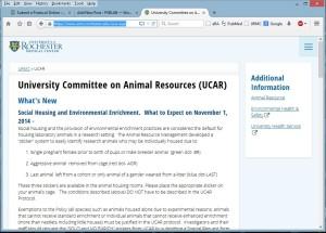 UCAR main page